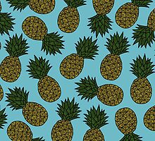 PINEAPPLE - BLUE by tosojourn