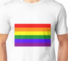 Rainbow LGBTA Flag Unisex T-Shirt