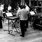Percussion ensemble at the Royal Opera House by shakey123