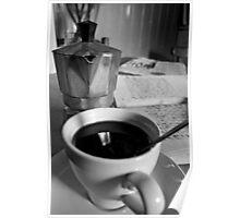 Espresso and Sudoku Poster