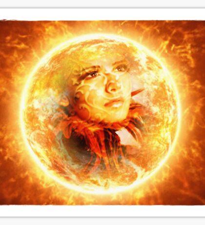 ~ The Sun ~ Sticker