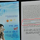 My work printed in a book by nishagandhi
