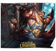 LEAGUE OF LEGENDS BRAUM Poster