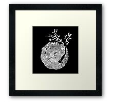 Nature's Choir (mono) Framed Print