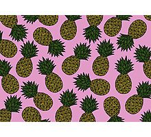 PINEAPPLE - PINK Photographic Print