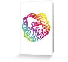 Love Wins Design - Version Three Greeting Card