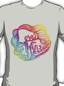 Love Wins Design - Version Three T-Shirt