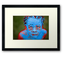Disturbance Framed Print