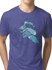 Stacks on Blue! Tri-blend T-Shirt