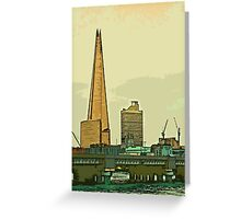 Southbank skyline by Tim Constable Greeting Card