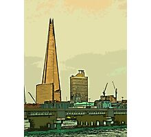 Southbank skyline by Tim Constable Photographic Print