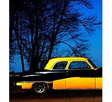 Bumble Blue Photographic Print