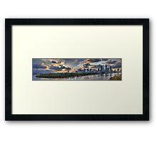Lower Brisbane Framed Print