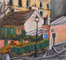 Au Lapin Agile by Sandy Taylor