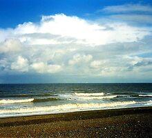 Cley Beach by Ian Lyall