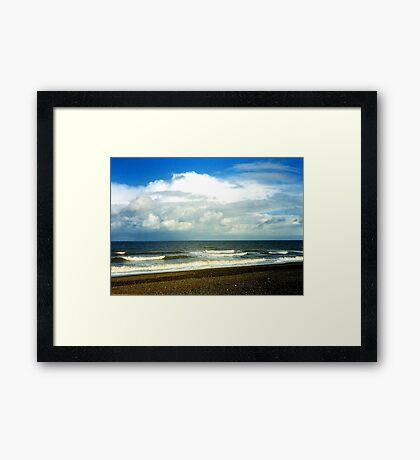 Cley Beach Framed Print
