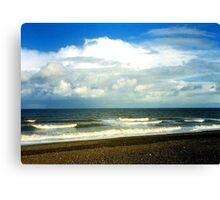 Cley Beach Canvas Print