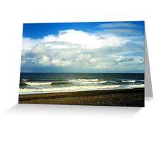 Cley Beach Greeting Card