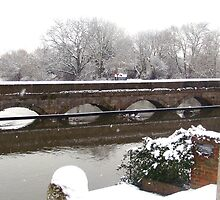 Snow on the Trent by Ian Lyall