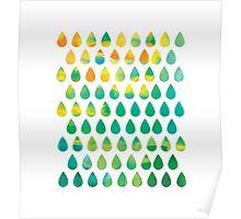 Monsoon Rain Poster