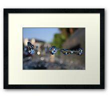 Flying Water Framed Print