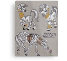 Zecora Doodles Metal Print