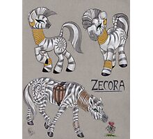 Zecora Doodles Photographic Print
