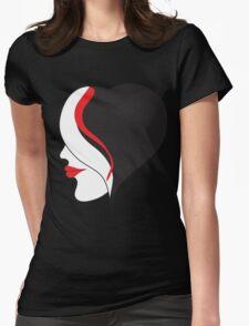 Black Hurt Womens Fitted T-Shirt