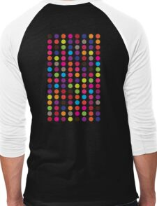 Circles Men's Baseball ¾ T-Shirt