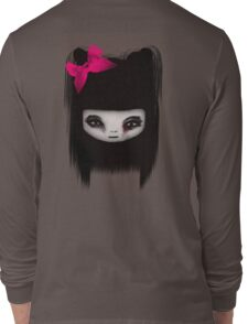 Little Scary Doll Long Sleeve T-Shirt