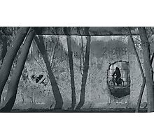 Through the Berlin Wall Photographic Print
