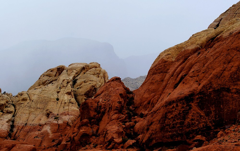 Storm in Red Rock by Pamela  Ball