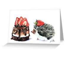 Berry Love Greeting Card