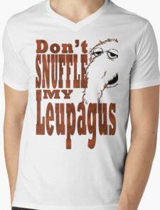 Don't Snuffle My Leupagus! Mens V-Neck T-Shirt