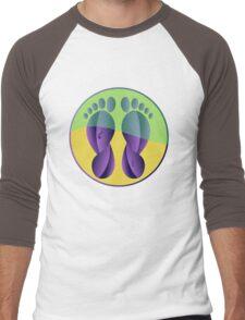 Feet Men's Baseball ¾ T-Shirt