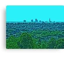 London Vista by Tim Constable Canvas Print