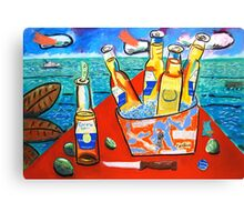 Bucket of Beer Canvas Print