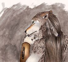 In thought by NizhoniWolf