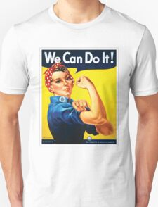 Rosie the Riveter classic wartime image T-Shirt