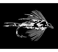 Black Camo Fly - Art Photographic Print