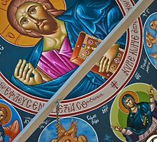 St. Elias Chapel Ceiling by Linda Gregory