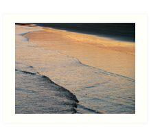 dusk's reflection Art Print