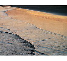 dusk's reflection Photographic Print