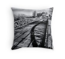 Bridge of shadows Throw Pillow