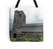 St Mary's Church, Conwy Tote Bag