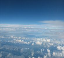 layers of clouds by gypsysouls