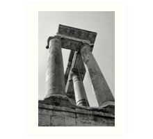 Temple of Saturn, Rome, Italy Art Print
