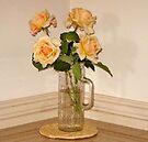 Roses in a Vase by Albert