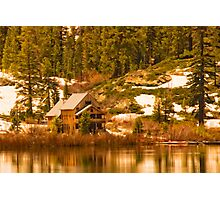 Salmon Lake Lodge Photographic Print