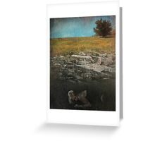 What Lies Below Greeting Card